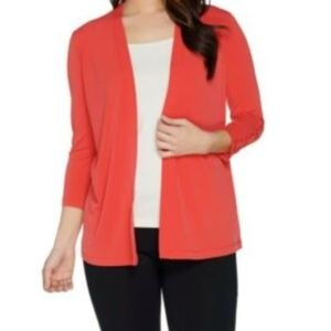 SALE! 2 for $25!! Knit Cardigan with Sleeve Detail